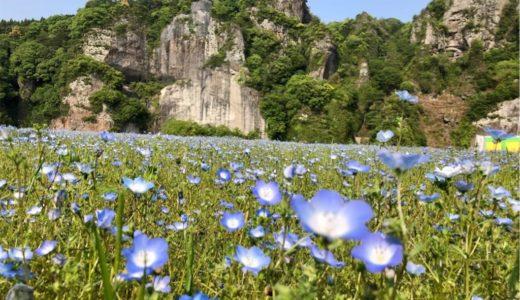 奇岩が美しい耶馬渓・禅海和尚の作った青の洞門【大分県】