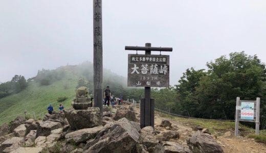 【山梨県甲州市】初心者でも日帰り登山のできる大菩薩嶺・日本百名山